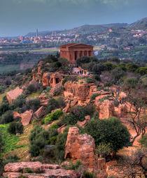 lanscape of valley of temples von Carla Zagni