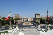Rome Piazza Venezia by Carla Zagni