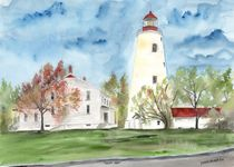 sandy hook lighthouse by Derek McCrea