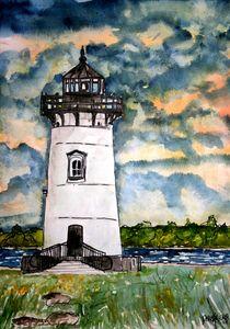 edgarton lighthouse von Derek McCrea