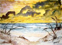 beach sand dunes by Derek McCrea