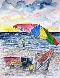 clearwater beach painting by Derek McCrea