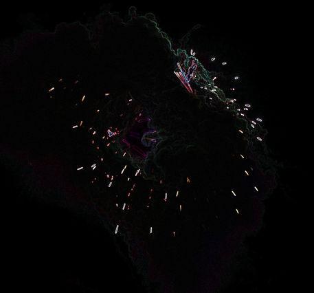 Firework-cloud-edge-glow-effect