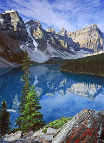 Moraine Lake, Canadian Rockies von Stephen Weaver