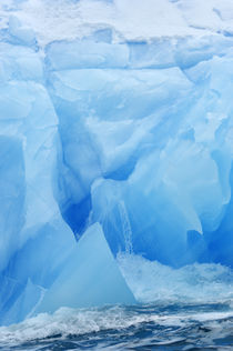 Blue Ice by Wolfgang Kaehler