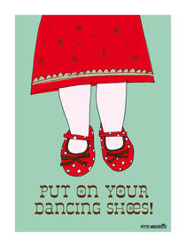 Dancing Shoes by Rebecca Strahan