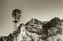 Arizona Windmill by Jim Moon