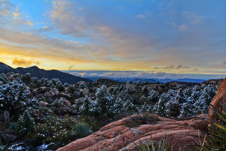 Az-april-snow-sunset