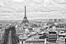 The Eiffel Tower from the Arc de Triomphe