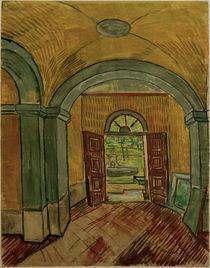 V.van Gogh, Vestibuel der Heilanstalt by AKG  Images