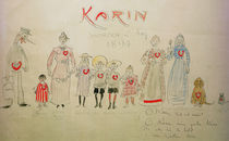 Carl Larsson, Gratulation zum Karintag by AKG  Images
