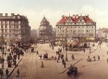 Muenchen, Karlsplatz / Photochrom by AKG  Images