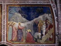 Giottoschule, Auferweckung des Lazarus by AKG  Images