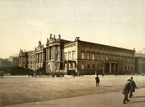 Berlin, Palais Kaiser Wilh.I./ Foto 1898 by AKG  Images