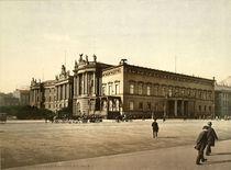 Berlin, Palais Kaiser Wilh.I./ Foto 1898 von AKG  Images