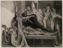 J.H.Fuessli, Kriemhild klagt a.d.Leiche.. von AKG  Images