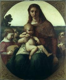 Anselm Feuerbach, Maria mit dem Kinde von AKG  Images