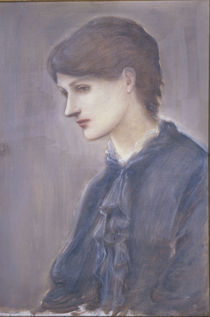 Marie Stillman / Gem.v.Burne Jones von AKG  Images
