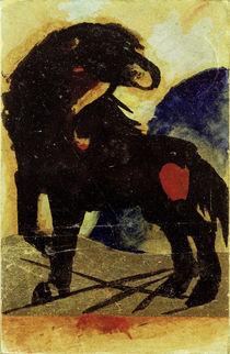 Franz Marc, Schwarzes Pferdchen von AKG  Images