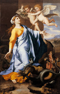 N.Poussin, Hl.Margareta by AKG  Images