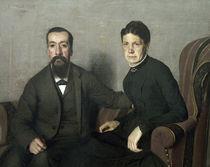 Felix Vallotton, Eltern des Kuenstlers von AKG  Images