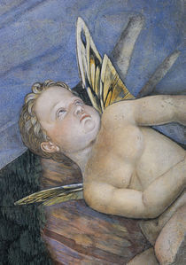 A.Mantegna, Camera degli Sposi, Putto von AKG  Images