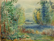 A.Renoir, Flusslandschaft by AKG  Images