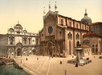Venedig, SS.Giovanni e Paolo / Foto von AKG  Images