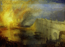 W.Turner, Brand der Houses of Lords and by AKG  Images