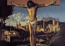 Giov.Bellini, Christus am Kreuz von AKG  Images