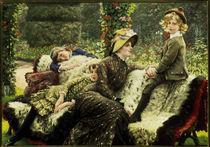 Tissot, Le Banc de Jardin by AKG  Images