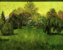 V.van Gogh, Der Dichtergarten by AKG  Images