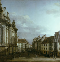 Dresden, Frauenkirche / Gem.v.Bellotto by AKG  Images