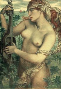 D.G.Rossetti, Sirene Ligeia by AKG  Images
