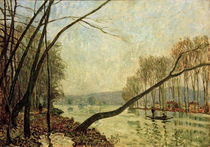 A.Sisley, Seine Ufer im Herbst by AKG  Images