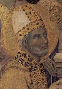 Duccio, Maesta, Savinus von Faenza von AKG  Images