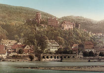 Heidelberger Schloss / Photochrom by AKG  Images