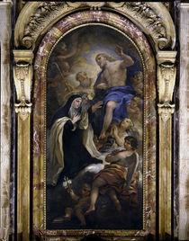 L.Giordano, Vermaehlung Maria M.d.Pazzi von AKG  Images