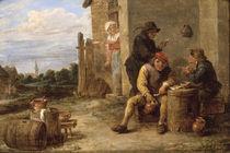 D.Teniers, Rauchende Bauern von AKG  Images