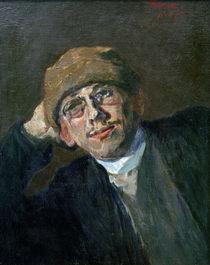 Max Slevogt, Adolf mit Mensurkappe von AKG  Images