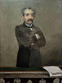 Georges Clemenceau / Gem.v.Manet von AKG  Images