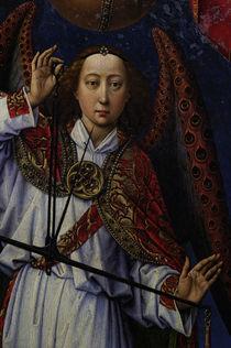 R. van der Weyden, Erzengel Michael Hand von AKG  Images