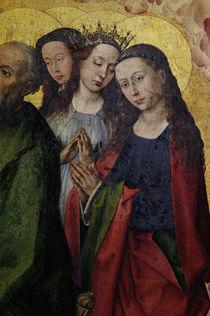 R.v.d. Weyden, Juengst.Gericht, Heilige by AKG  Images