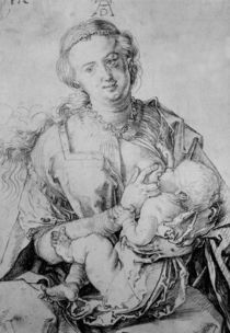 A.Duerer, Maria das Kind naehrend by AKG  Images