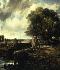 J.Constable, Die Schleuse by AKG  Images