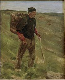 M.Liebermann, Studie zum Bauer m.Kiepe by AKG  Images