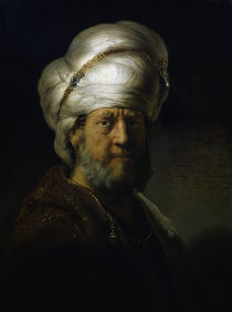 Rembrandt, Bildnis eines Orientale von AKG  Images