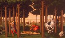 Botticelli, Geschichte des Nastagio II. von AKG  Images