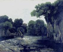 Courbet, Die Wassermuehle/ von AKG  Images