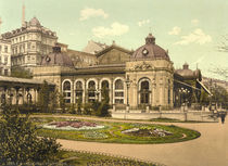 Karlsbad, Stadtpark / Photochrom by AKG  Images